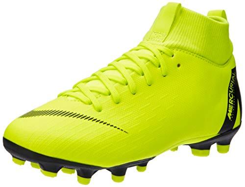 Nike Unisex-Kinder Jr. Mercurial Superfly VI Academy MG Fußballschuhe, Schwarz (Volt/Black 701), 36 EU (Nike Schuhe Kinder Mercurial)