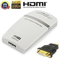 USB 3.0a HDMI/DVI/VGA adattatore grafico, Supporto Full HD 1080P, espandibile fino a 6unità Display
