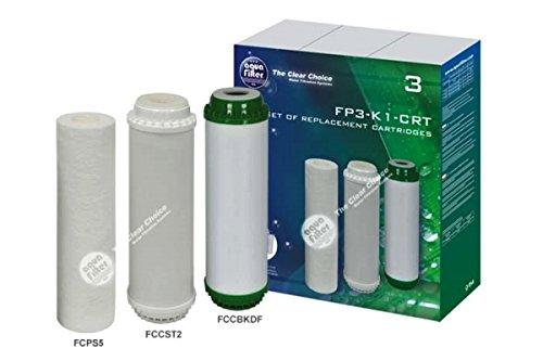 Ersatzfilterset (FCPS5, FCCST2, FCCBKDF) für Systeme : FP3-K1, FP3-HJ-K1, FP3-2 -