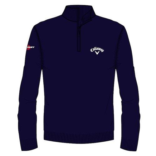 Callaway Golf 1/4Zip Jersey, Herren XL blau (410)