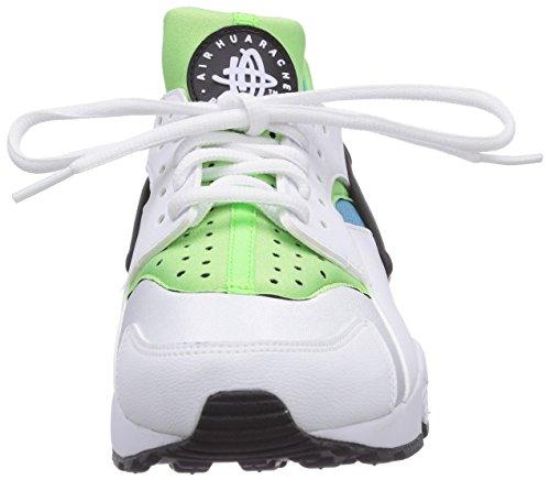 Nike - Air Huarache, Sneakers da donna Multicolore (Mehrfarbig (White/White-Clearwater-Flsh Lm 100))