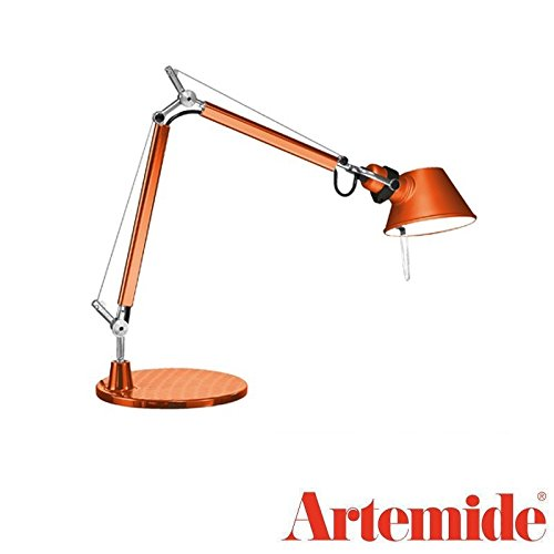 Artemide Tolomeo Micro LED Lampe de table bronze