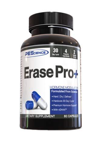 PEScience Erase Pro+ Testosteron Booster PCT Entwässerung Fettabbau definierter Körper 30 Kapseln