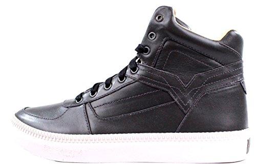 DIESEL - Baskets basses - Homme - Sneakers montantes Spaark Mid Grises pour homme