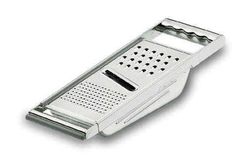 Lacor - 60304 - Rallador 3 usos Con Contenedor Inox 18/10
