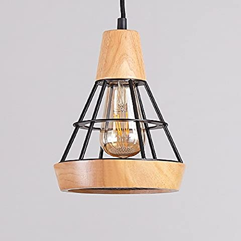 Ztleuchte Modern Loft Pendant Lights Creative Elegant Nordic Wood Ceiling