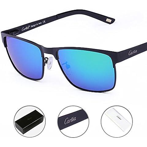 Carfia Unisex Gafas de Sol Polarizadas de Moda 100% UV400 Protección para Conducción Pesca Esquiar Golf Aire Libre para Mujer y
