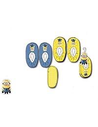 Pantuflas para Niño Minions Despicable Me en azul/amarillo ph4724, azul