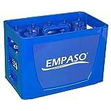 EMPASO TeamKiste (BB) - 12er Fußball Trinkflaschen Set mit Flaschennummern 1-12.
