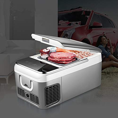 Xljh 18L Auto Kühlschrank Kompressor DC 12 V 24 V Auto Kühlschrank Gefrierschrank Kühler für Auto Nach Hause Picknick Kühlung Gefrierschrank -20~10 Grad (Dc-kompressor-kühlschrank)