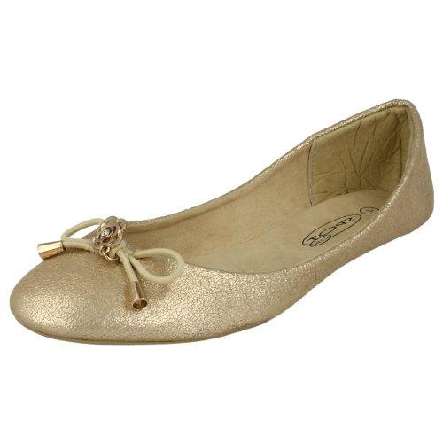Oro Ballerine On Spot Nera Donna x5Ixwgq