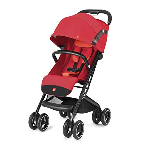 gb Gold Buggy Qbit+ All Terrain, Luxus Traveller, 3-in-1 Reisesystem, Ab Geburt bis 17 kg (ca. 4 Jahre), Rose Red