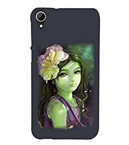 PRINTSHOPPII CUTE GIRL Back Case Cover for HTC Desire 828 Dual SIM
