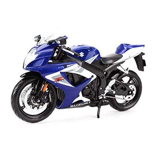 Maisto Modelo 1:12 GSX-R750 Motocicleta de simulación de Carretera Di
