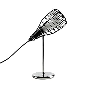 CAGE MIC - Lampe Baladeuse Noir H44cm - Lampe à poser Diesel with Foscarini designé par Diesel