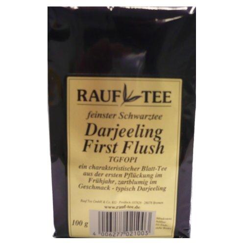 Rauf Tee Schwarztee- Darejeeling First Flush- 2x100g