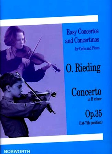 Oskar Rieding: Concerto in B Minor Op.35 (Cello and Piano)