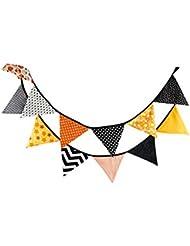 10,5 pieds fanion bannière drapeau en plein air tente triangle drapeaux Hallowmas style