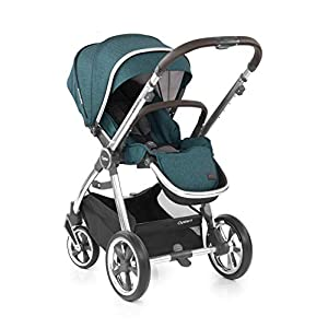 Babystyle Oyster3 Pushchair in Peacock Mirror Chassis   4