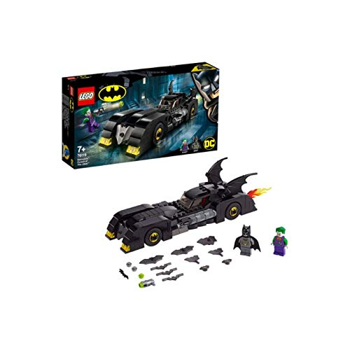 LEGO 76119 4+ DC Batman Batmobile: Pursuit of The Joker, Classic Batmobile Car Model, Super Heroes Toys Best Price and Cheapest