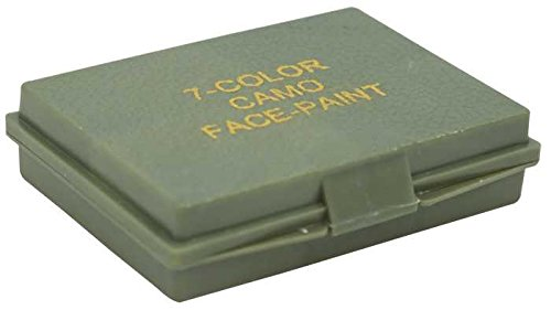 Camo cara pintura 7-coloures de camuflaje Multi