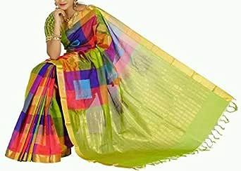 Uppada pattu Saree With blouse piece by Divadolls Devinestyle