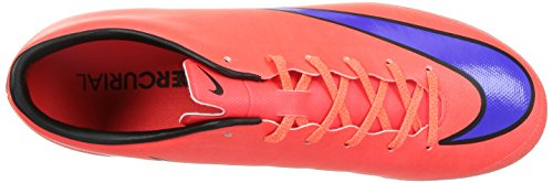 Nike Mercurial Victory V Ag, Chaussures de Football Compétition Homme Rot (BRIGHT CRIMSON/PRSN VIOLET-BLK 650)