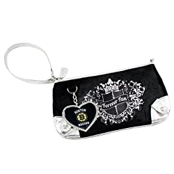 NHL Boston Bruins Sport Luxe Fan Wristlet
