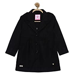 612 League Girls Coat (ILW17I63009_Black_9-10 Years)