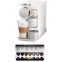 Nespresso Lattissima One EN500.W Macchina per Caffè Espresso, Colore Bianco