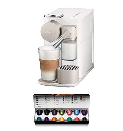 De'Longhi Nespresso EN 500.W Kaffeemaschine (1400 W, 1 l, 19 Bar), Silky Weiß