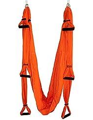 Yoga Gran Cojinete De Rotación De Honda Herramienta Hamaca Trapecio Inversión - Naranja, para Mujer