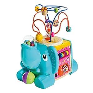 WOOMAX - Elefante de actividades 5 en 1 (ColorBaby 46249)