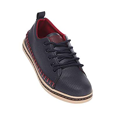 Life by Shoppers Stop Boys Casual Wear Laceup Sneakers (Blue_36)