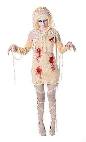 Karnival Costumes 84001–Costume da mummia egizia per donna taglia M
