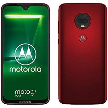 motorola Moto G7 Plus viva red 64GB unlocked: Amazon co uk
