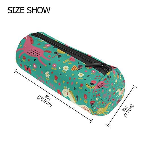 d00143d41444d Malpleda Jump para Joy Round Pen Holder Case Makeup Bags