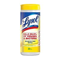 Lysol Disinfecting Wet Wipes, Citrus Scent 35 each by Lysol