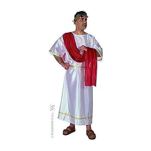 "Mens Caesar Costume Extra Large UK 46"" for Sparticus Roman Gladiator Fancy Dress"
