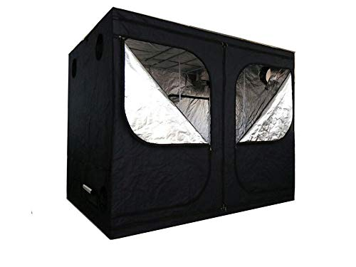 SavingPlus Indoor Grow Box Aluminum Foderato Bud Dark Room per Tenda Luce idroponica Fan 240 x...
