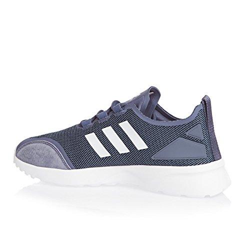 adidas Zx Flux Adv Verve W, Chaussures de Course Femme Multicolore (Suppur/ftwwht/conavy)