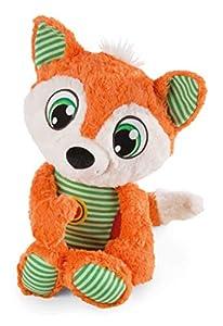 NICI 42683 - Zorro de Peluche (38 cm), Color Naranja y Verde
