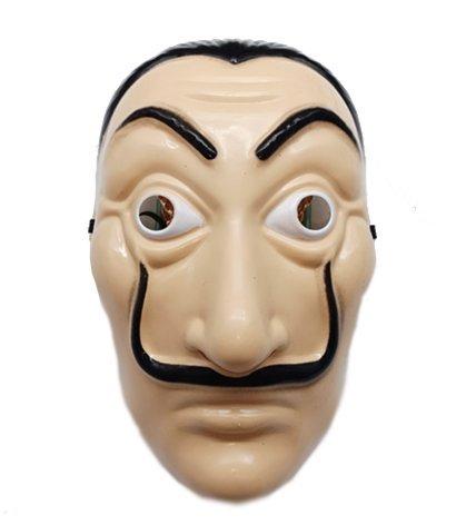 leegicst Salvador Dali Maske Realistische Prop Gesichtsmaske Party Maske für Halloween Festival,Party Maske für Halloween Tanzparty (A)