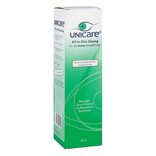 Unicare All in One für harte Linsen Lösung 2