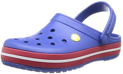 crocs Unisex-Erwachsene Crocband Clogs Blau (Cerulean Blue/Pepper)