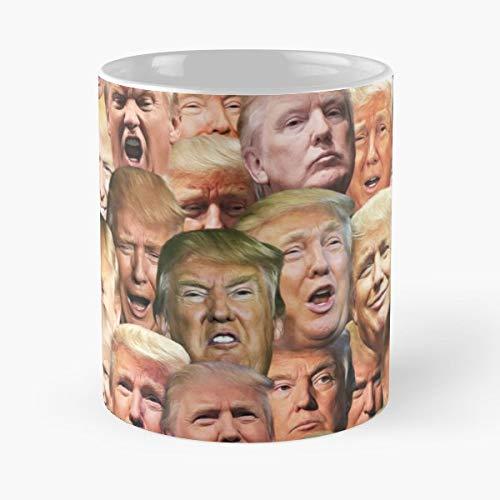 Donald Trump American America Usa President Elect Republican 2016 Star Savior Of - Best 11 Ounce Ceramic Coffee Mug Gift -