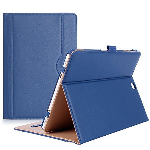 ProCase Étui pour Samsung Galaxy Tab S2 9.7, Smart Cover Case Housse Coque avec Support Fonction et Veille/Réveil Automatique pour Galaxy Tab S2 Tablet (9.7 Pouce, SM-T810 T815 T813) - Marine