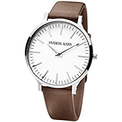 Dyrberg/Kern Accessories Leather Bands Priv Ilegia SL 7S5 Leder 24 cm, Silver 337518