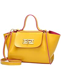 ab74b30f4a9a09 Shoulder Bag For Women Sale,Beautytop Womens Ladies Vintage Leather Turn  Lock Crossbody Handbags Bags,Shoulder Tote,Women'S…