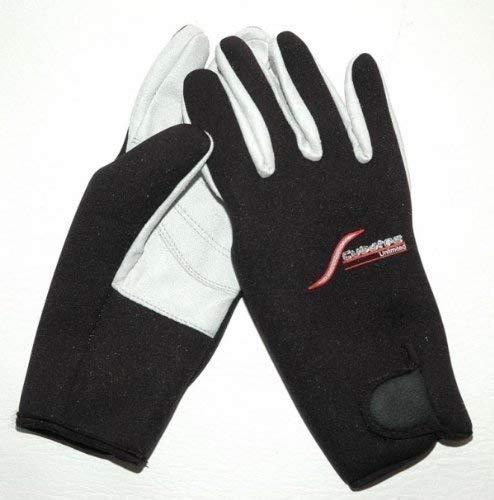 SCUBATEC Tropenhandschuhe Tauchhandschuhe 2mm schwarz Gr. M